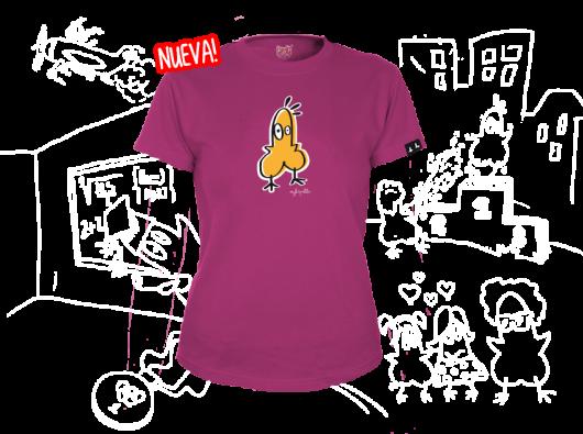 Camiseta Soy La Polla Chica